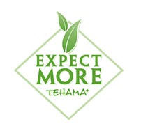 Expect More Tehama Logo